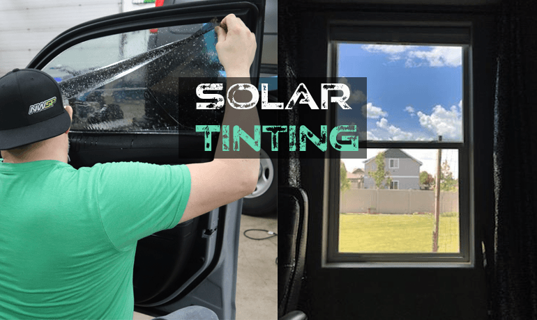 Solar Tinting For Safety AND Savings!