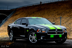 Charger Stripes and Caliper Covers