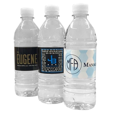 Custom Bottled Water Labels