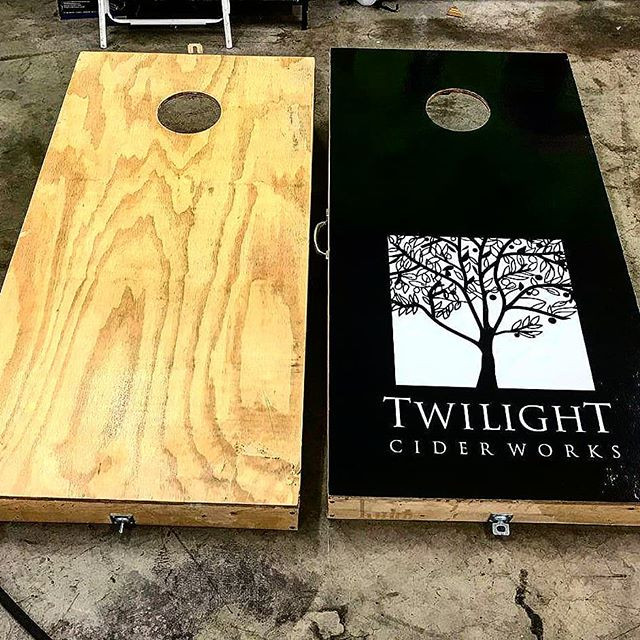 Cornhole Board Wrap