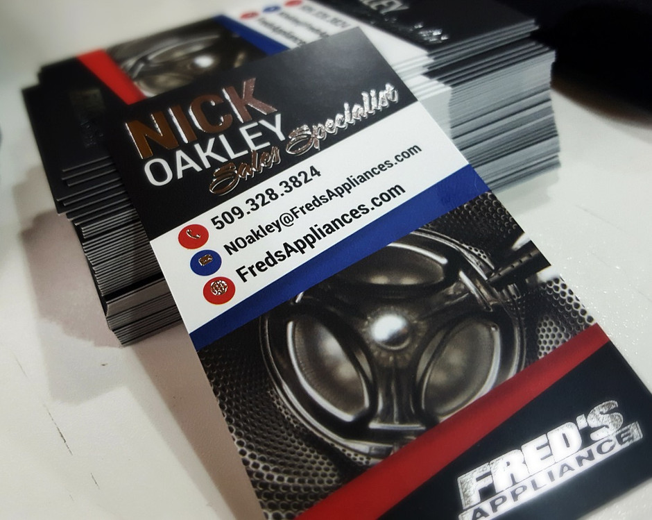 Outstanding Business Cards need Custom Details