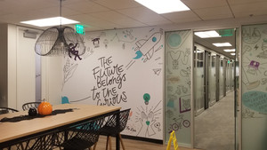LA Wall Graphics and Glass Wraps- Traveling Installation