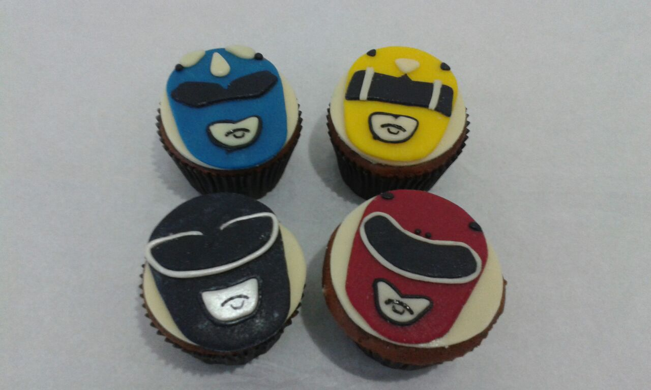Cupcake Power Rangers