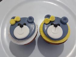 Cupcake tema ursos