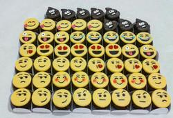 Brigadeiros tema emojis