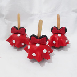Maça decorada Minnie