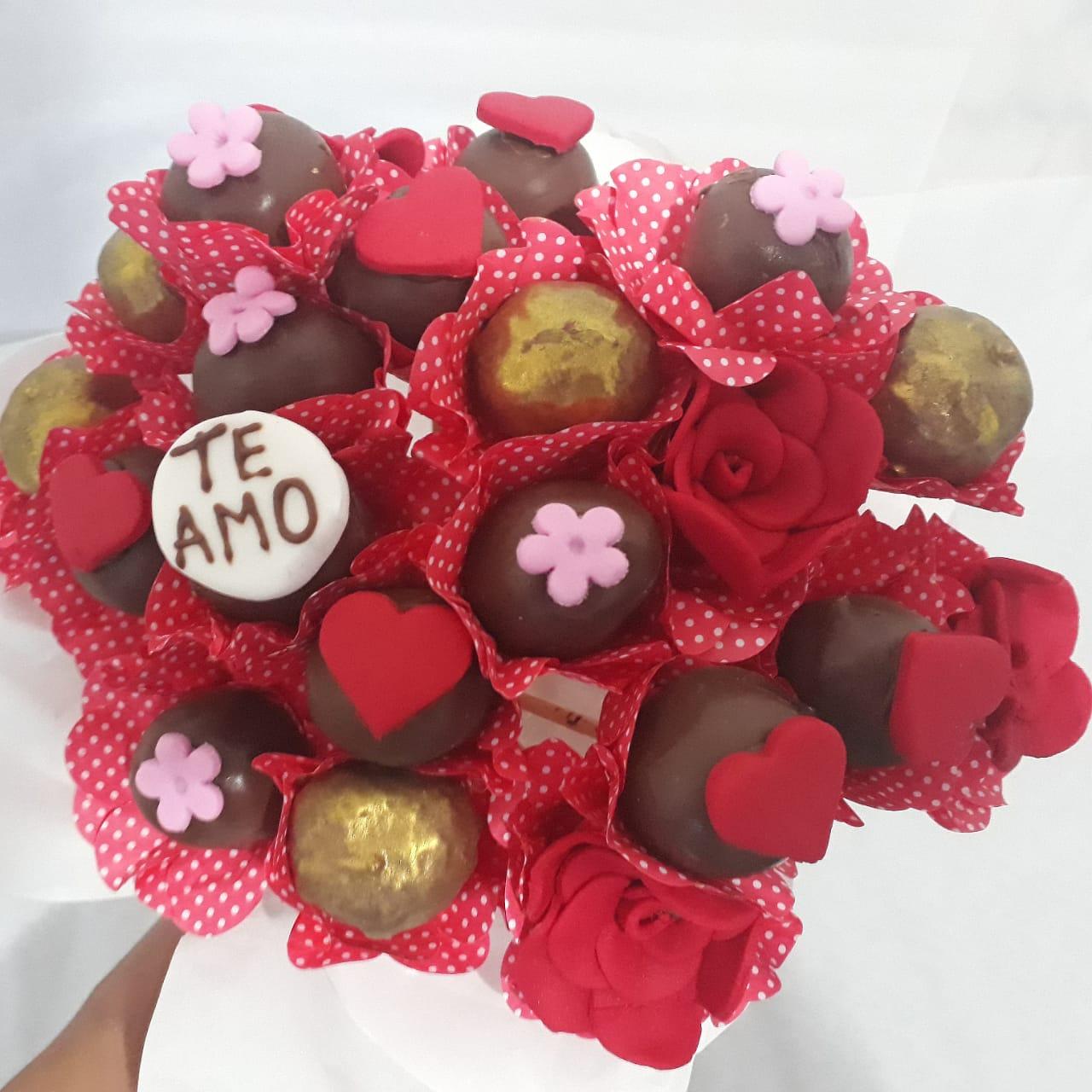 Buquê de doces, tema dia das mães