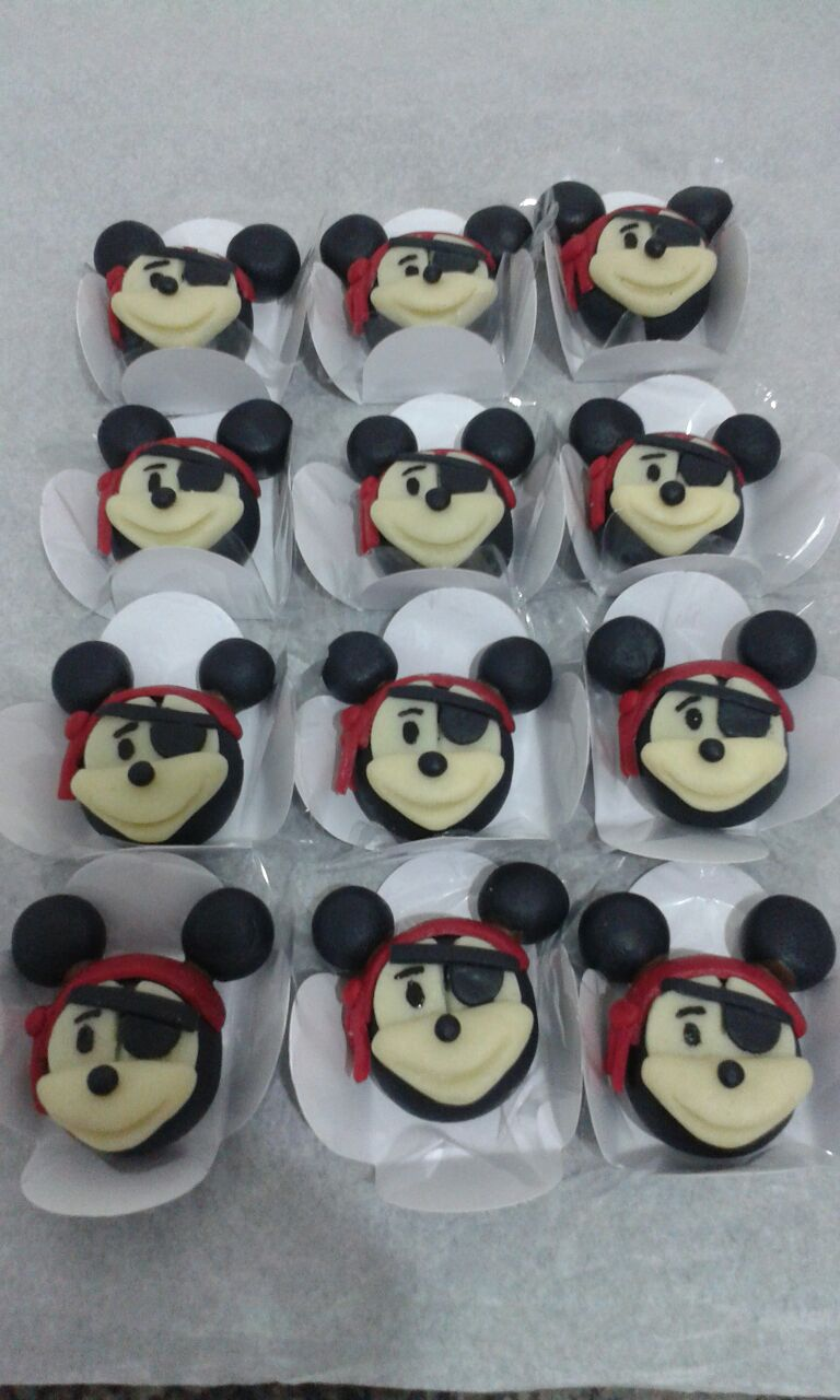 Doces Mickey Pirata