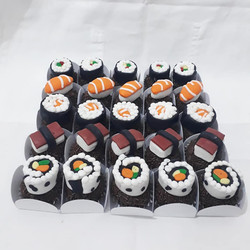 Brigadeiro, comida japonesa