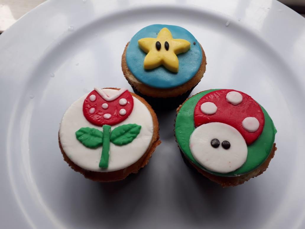 Cupcake Super mário