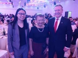 PCDA President with Prudential Senior St