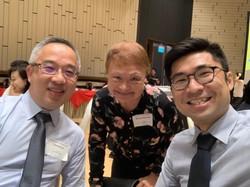 PCDA President with SSG senior staff