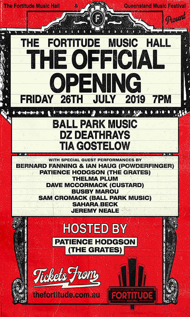 The Fortitude Music Hall - The Official Opening