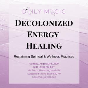 Decolonized energy healing course reiki healing energywork and energy reclaiming spiritual & wellness practices, reiki healing, decolonizing reiki healing, decolonizing experiences as a filipinx queer, tasha jade banate