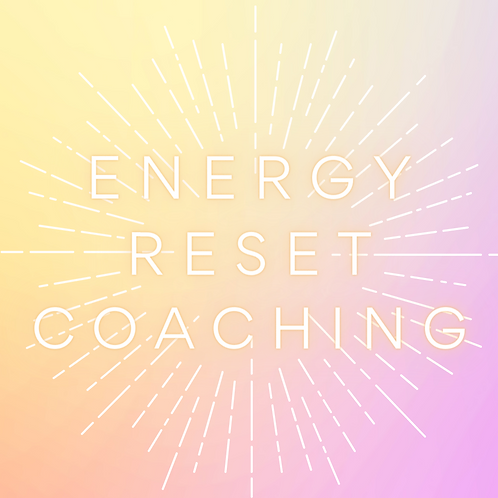 Energy Reset Coaching