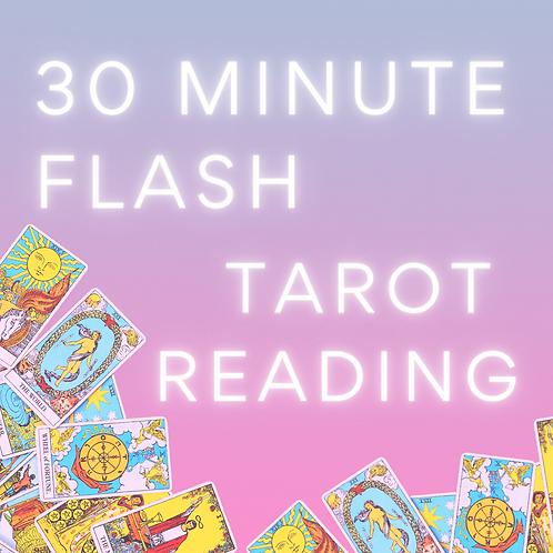 30-minute Flash Tarot Reading