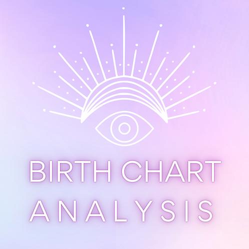 Birth Chart Analysis