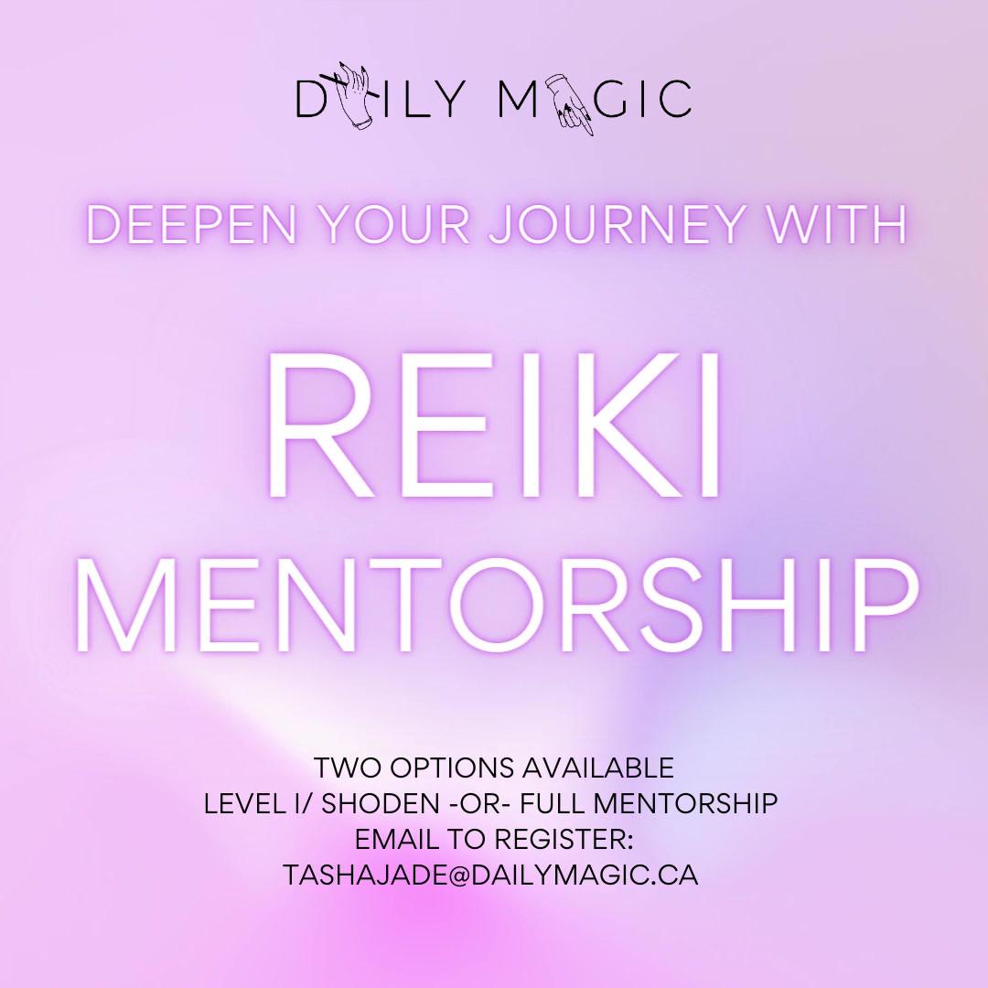 Reiki Mentorship