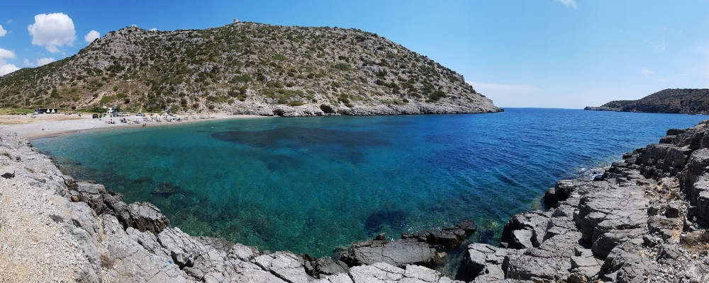 Die Bucht von Avlonia