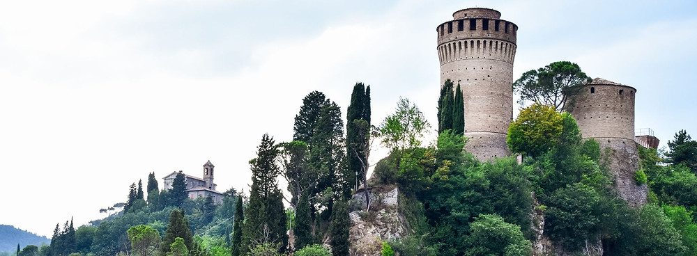 Die Rocca Manfrediana in Brisighella