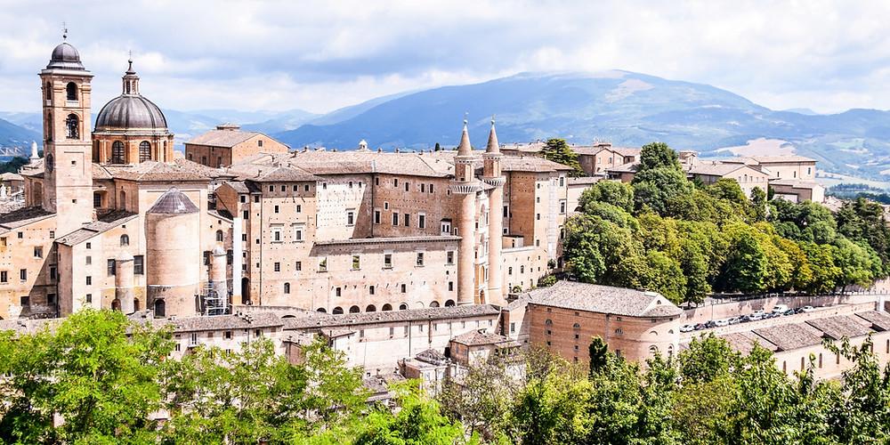 Urbino: Die Renaissancestadt in den Apenninenhügeln der Marken