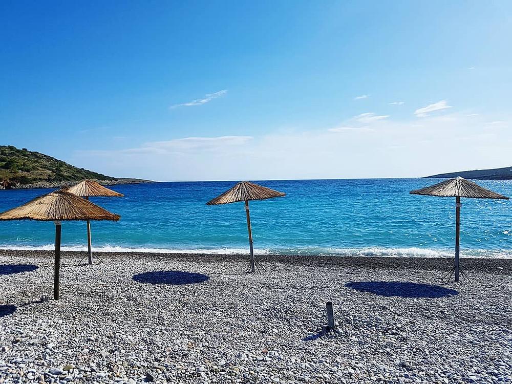 Der Strand von Salagona