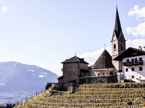 Zur romanischen Rundkirche von St. Georgen bei Schenna