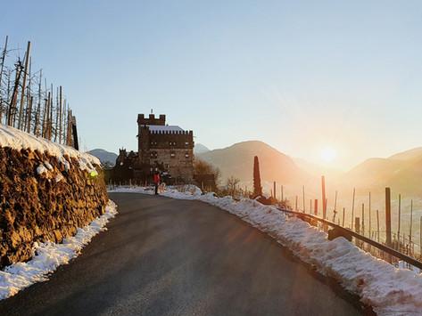 Wanderung zur Burg Katzenstein (Castel Gatto) in Meran