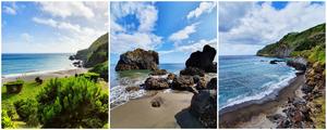 Praia Pequena de Água d'Alto - Praia Vinha d'Aeira - Caloura