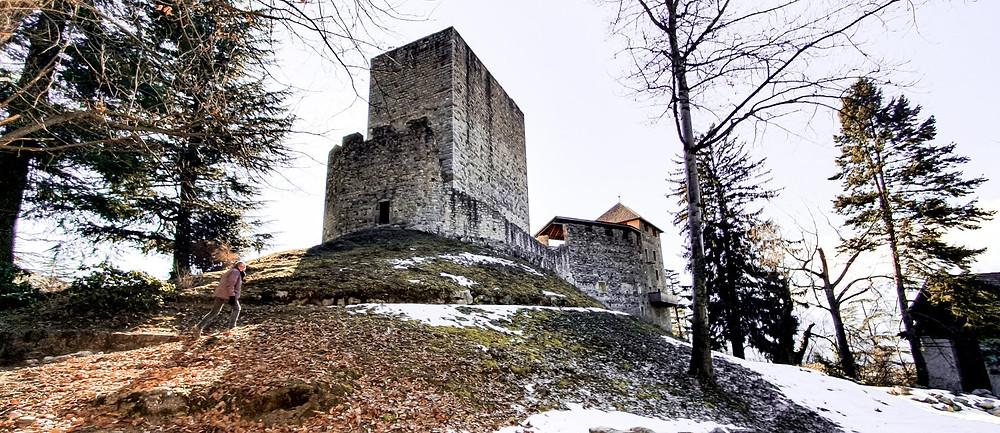 Eine der ältesten Burgen im Meraner Land: Schloss Goyen