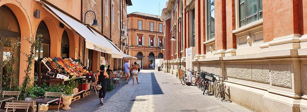 In den Straßen von Ravenna