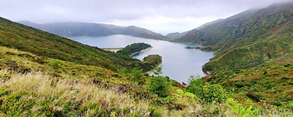 Der Lagoa do Fogo (Feuersee)