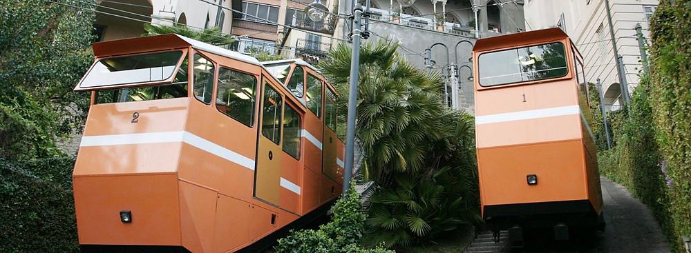 Die Standseilbahn von Bergamo