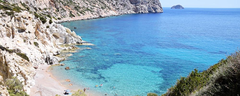 Die Bucht von Vroulidia