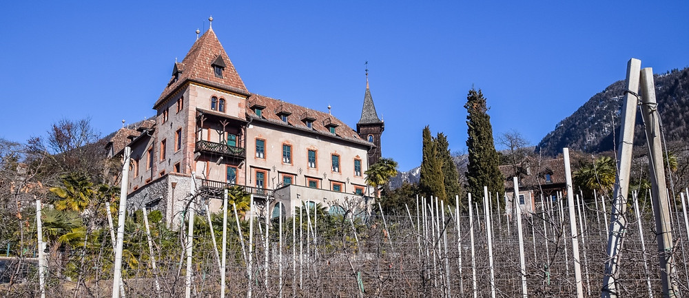 Schloss Labers im Meraner Stadtviertel Obermais
