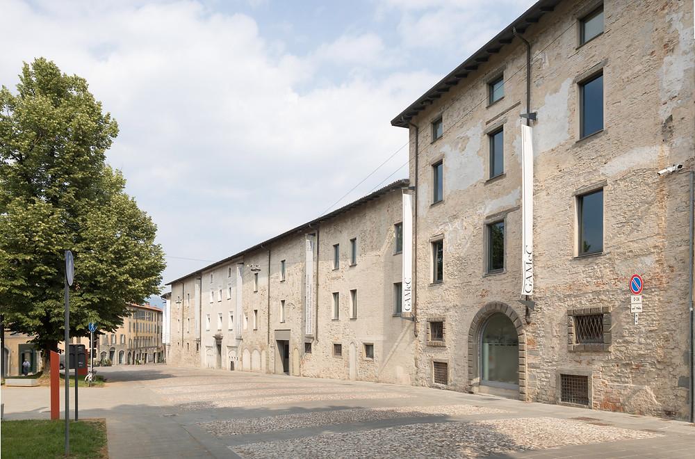 Das Museum für moderne und zeitgenössische Kunst GAMeC in Bergamo