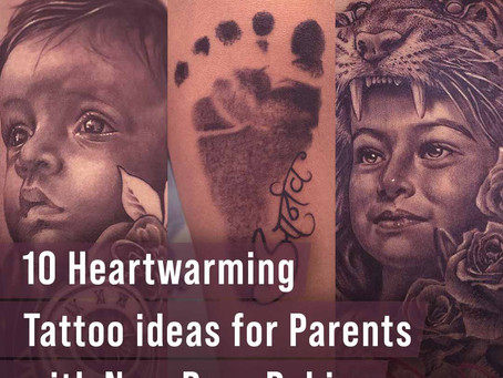 10 Heartwarming Tattoo Ideas For Parents With New-born Babies