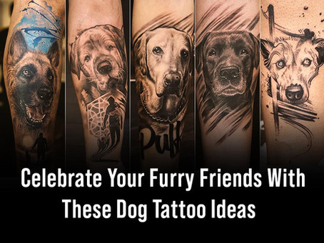 Celebrate your four-legged friends with these inkredible Dog Tattoo Ideas