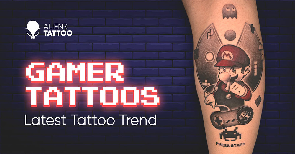 Tattoo Games Every Gamer Needs To Get This Tattoo Asap