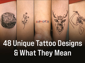 48 Unique Small Tattoos & the Meaning Behind Them