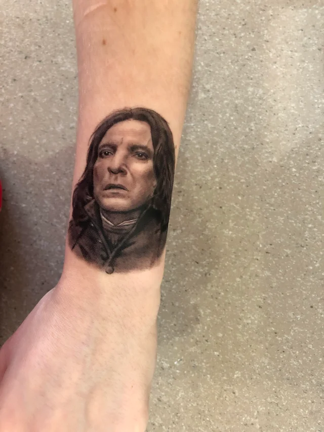 Harry Potter Fandom Tattoo