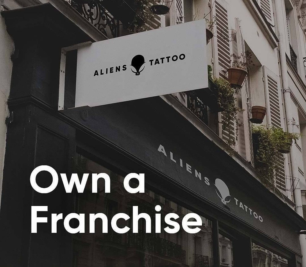 franchise business get aliens tattoo