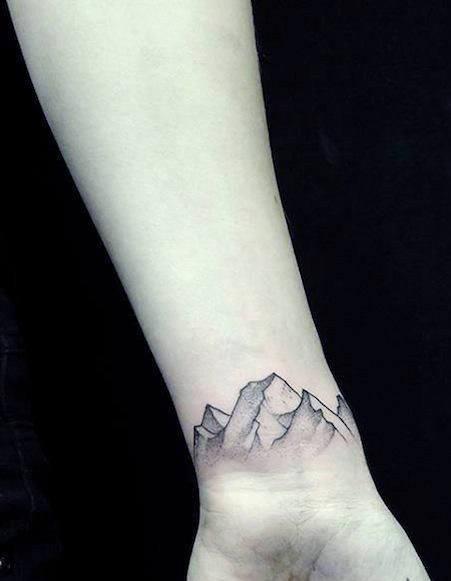Travel Tattoo on Wrist