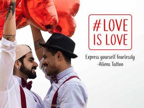 Love is love. It always finds a way regardless of gender.