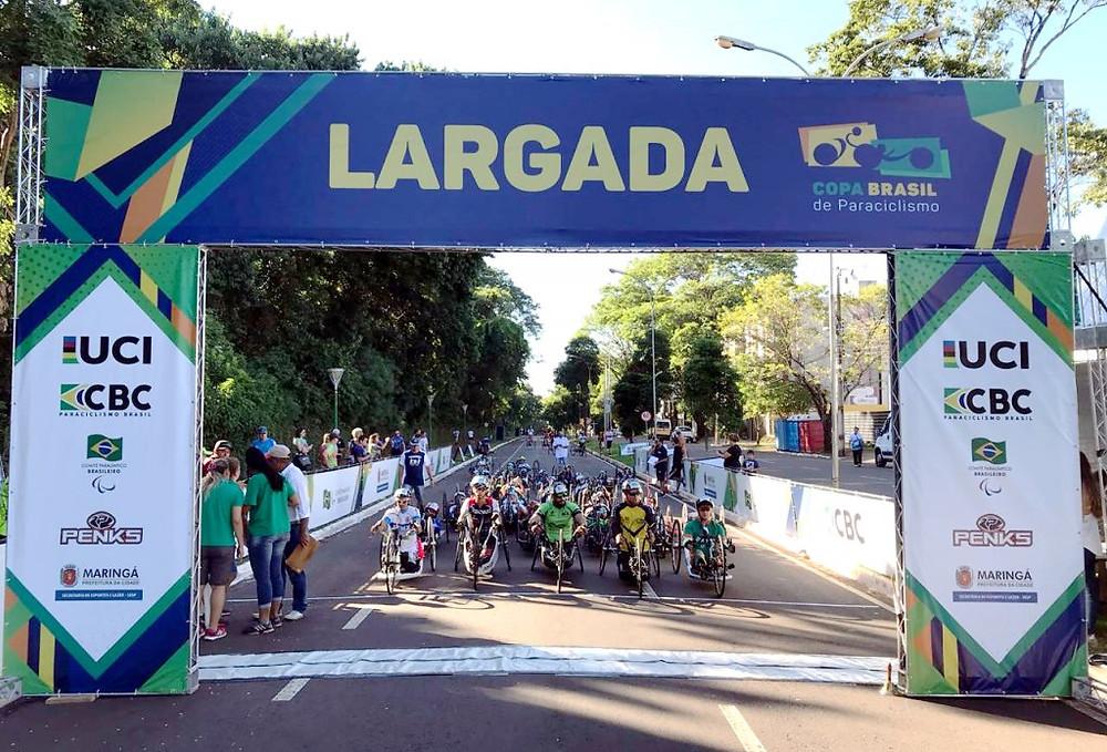 Copa Brasil de Paraciclismo / Divulgação