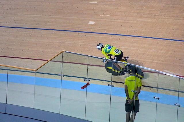 Chaman em ação no Velódromo do Rio / Márcio de Miranda - Planeta da Bike