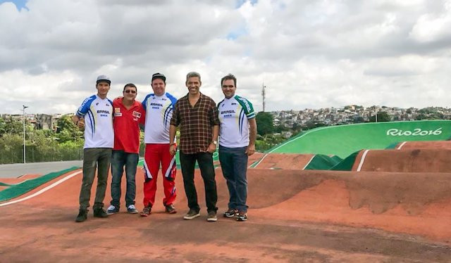 Visita ao Parque Radical de Deodoro / CBC - Divulgação