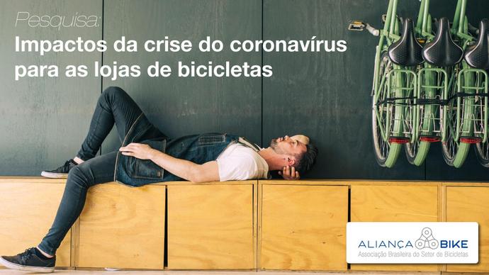 Aliança Bike divulga resultados da pesquisa sobre os impactos da pandemia nas lojas de bicicletas