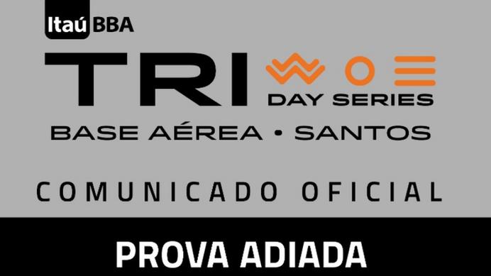 Coronavírus: Circuito Itaú BBA TRIDAY Series é adiado