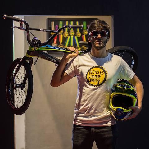 Renato é atleta olímpico do BMX e vai encarar o desafio / Divulgação